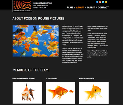 Poisson Rouge Pictures